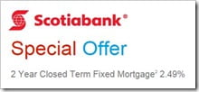 Scotiabank 2-year Fixed