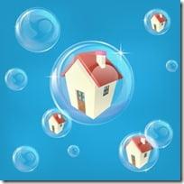 Housing bubble concept