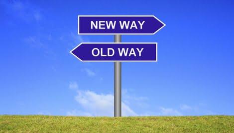 Old way-new way FB